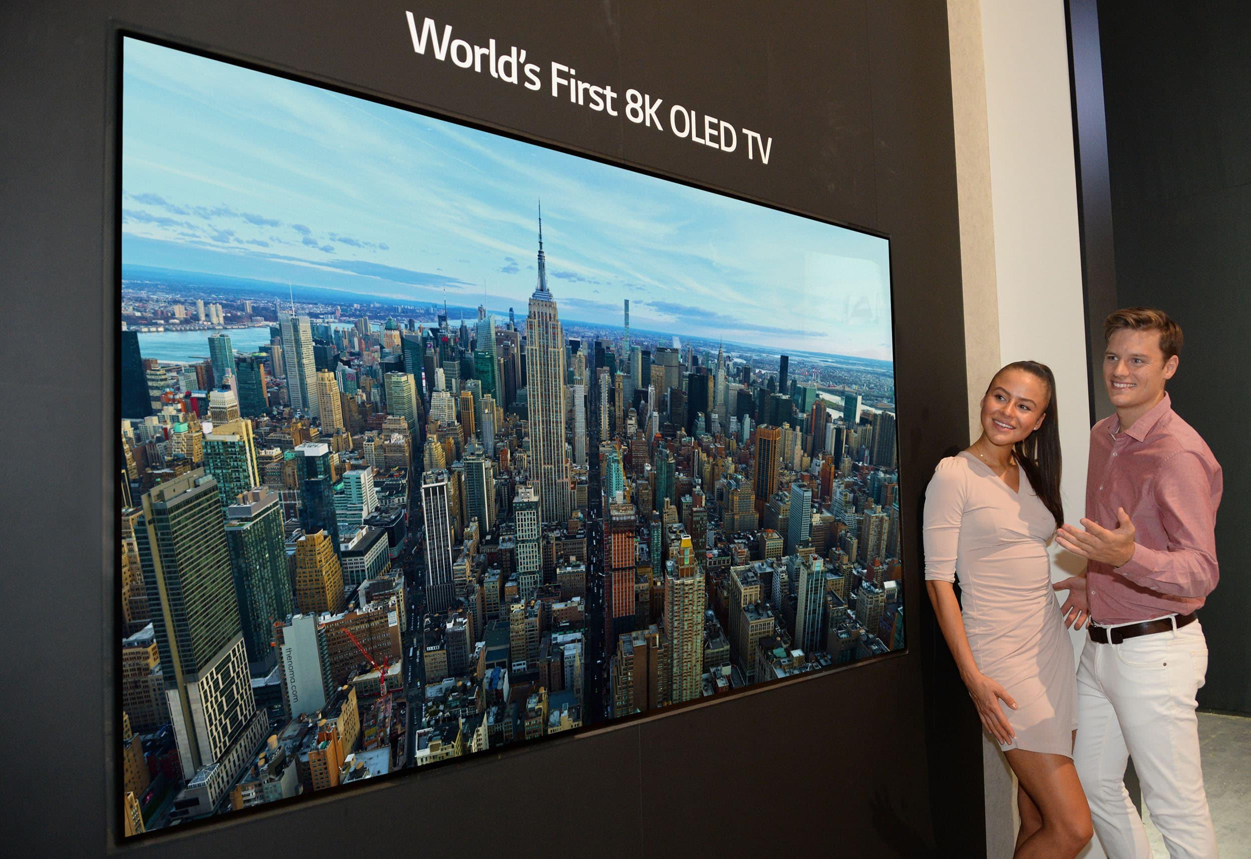 Серийные 8K OLED телевизоры LG ждём в июне 2019-го, возможно выпуск затянется - 1