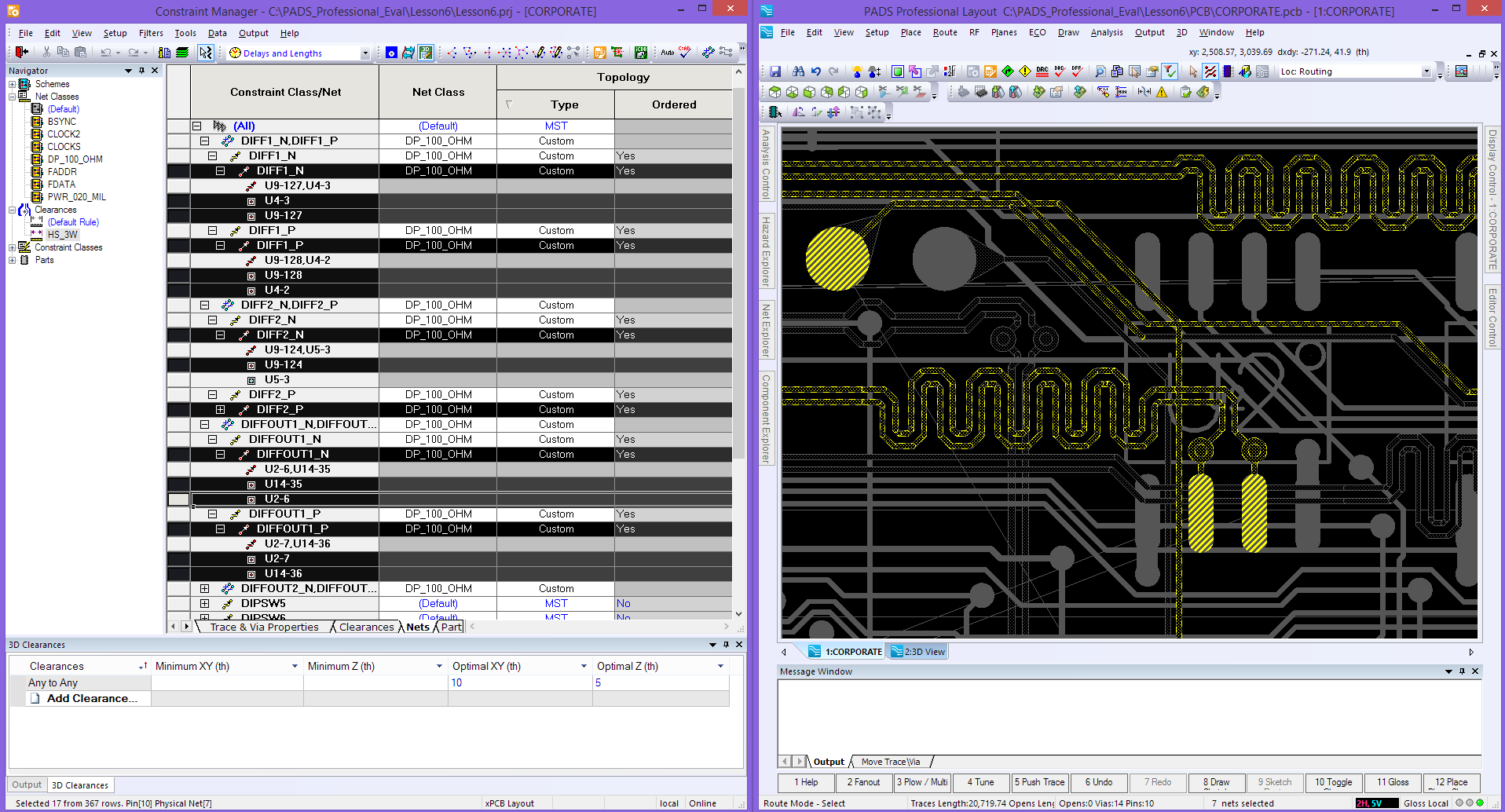 Настройка системы электрических ограничений для проектов, с использованием высокоскоростных интерфейсов - 1