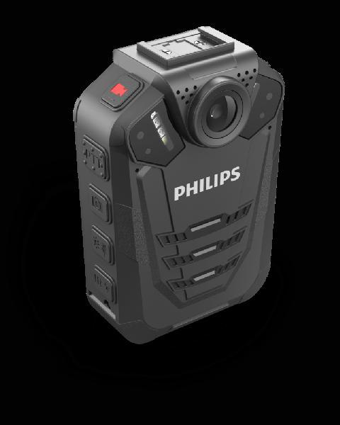 Носимый видеорегистратор Philips VideoTracer DVT3120 поддерживает разрешения до 2560 х 1080 пикселей
