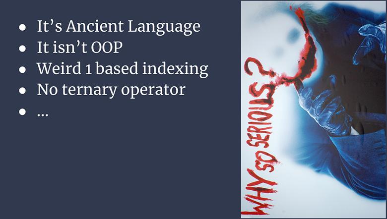 Встраиваемые языки: почему Lua? - 1