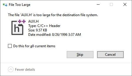 Ошибка, которая сохранилась в Windows с 1974 года - 1