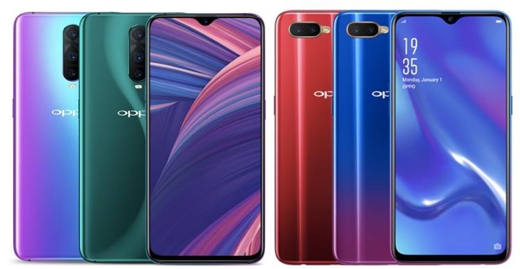 OPPO RX17 Pro и RX17 Neo: смартфоны с 6,4″ дисплеем FHD+ и экранным сканером отпечатков