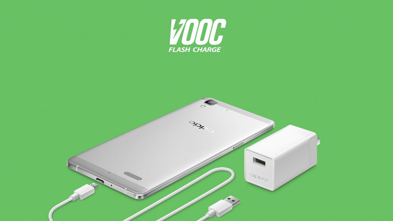 100 млн устройств используют быструю зарядку Oppo VOOC