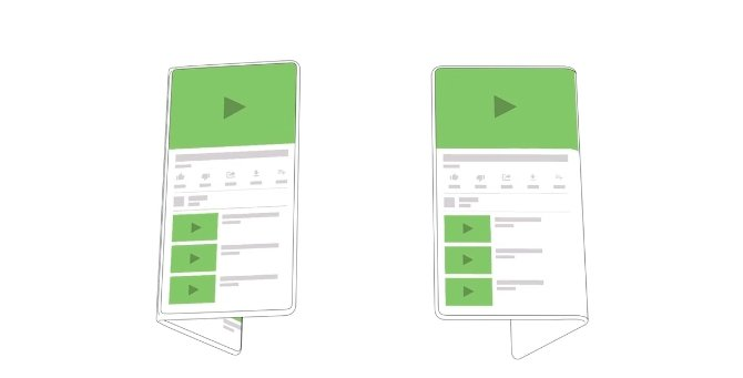 Google внедрит в Android поддержку складных экранов