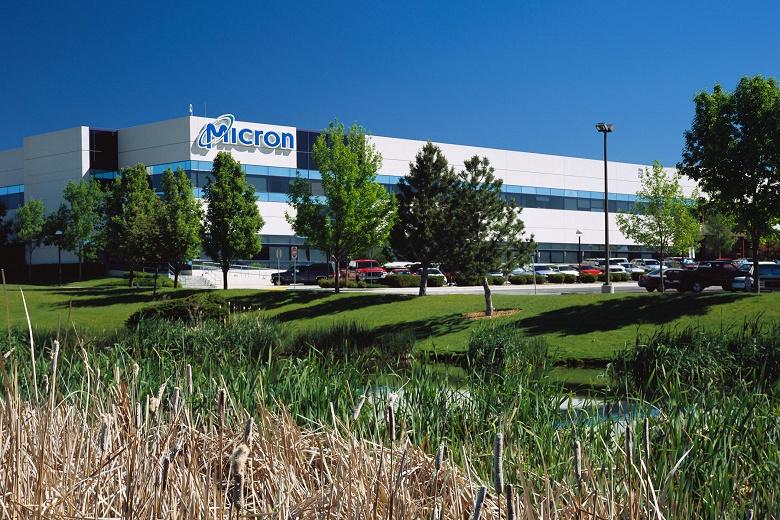 Micron начинает серийное производство первых «монолитных» микросхем памяти LPDDR4x DRAM плотностью 12 Гбит