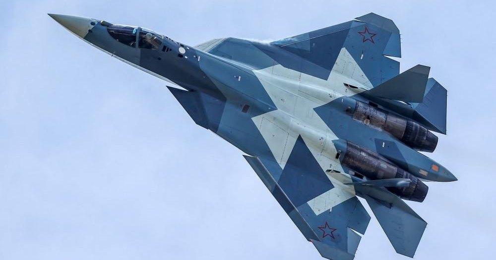 Разрушение крыла Су-57 попало в кадр