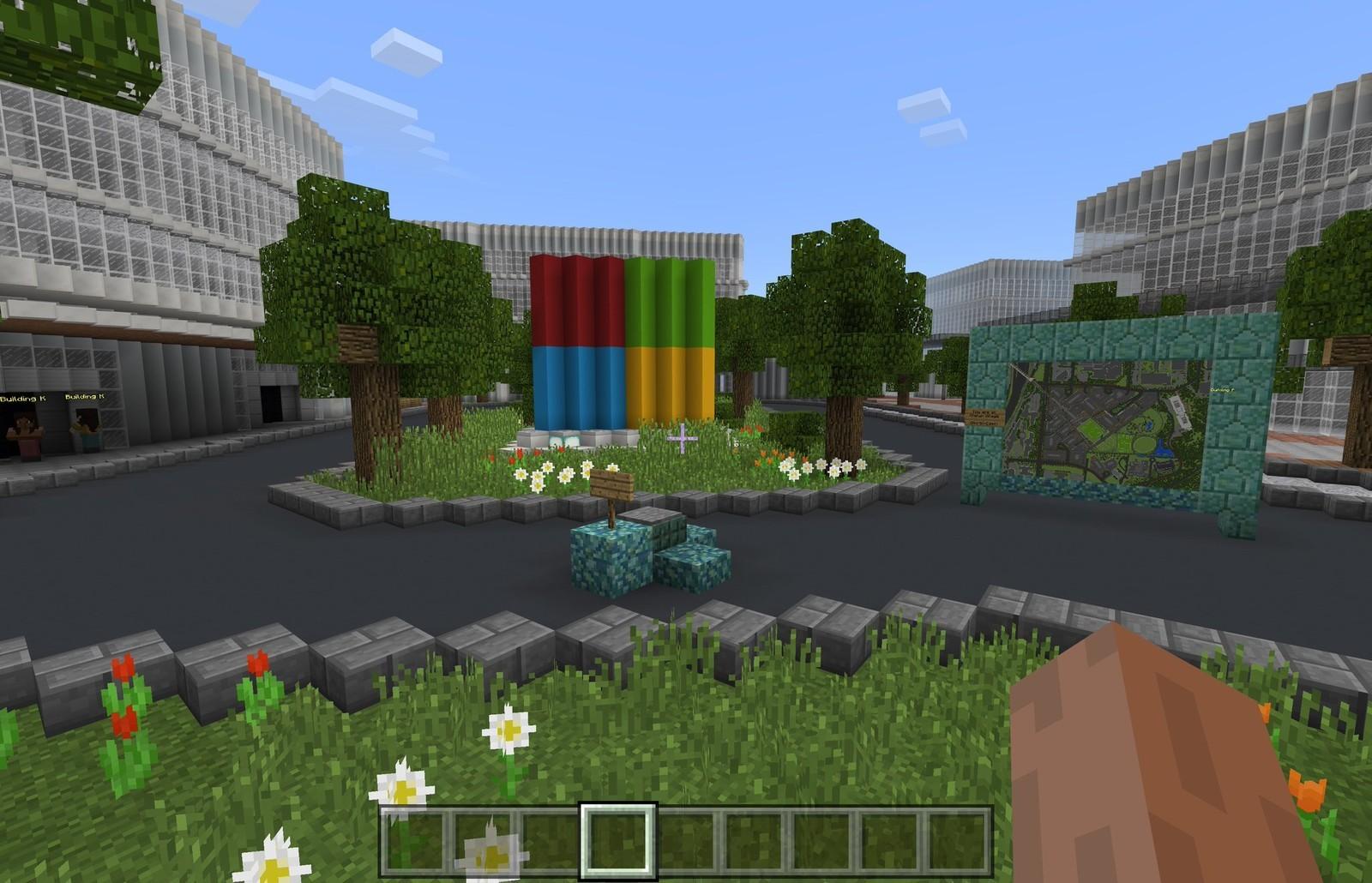 Microsoft заказала модель нового кампуса в Minecraft - 1