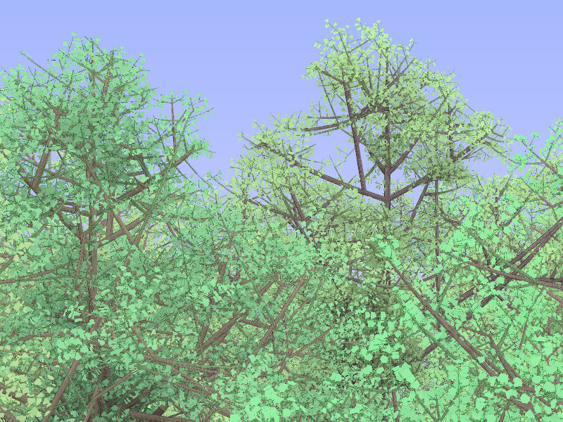 Как вырастить лес на Actionscript3-Flash в несколько* строк кода - 1