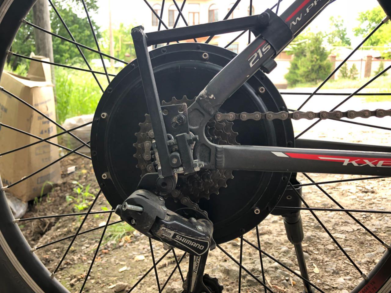 Компоненты электровелосипеда: мотор - 12