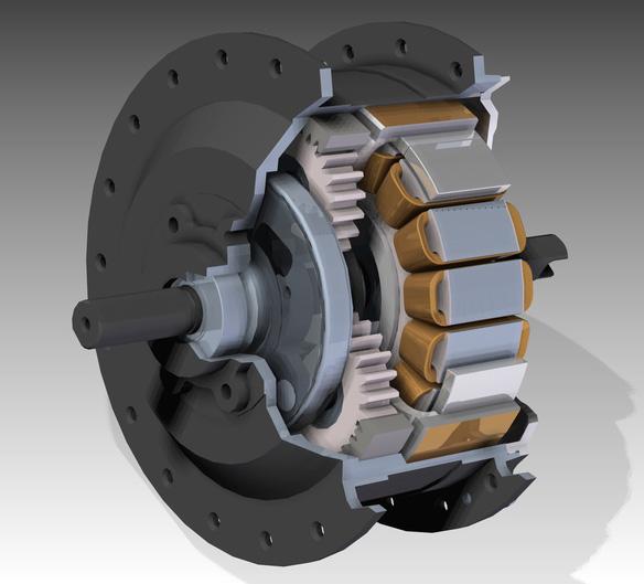 Компоненты электровелосипеда: мотор - 6