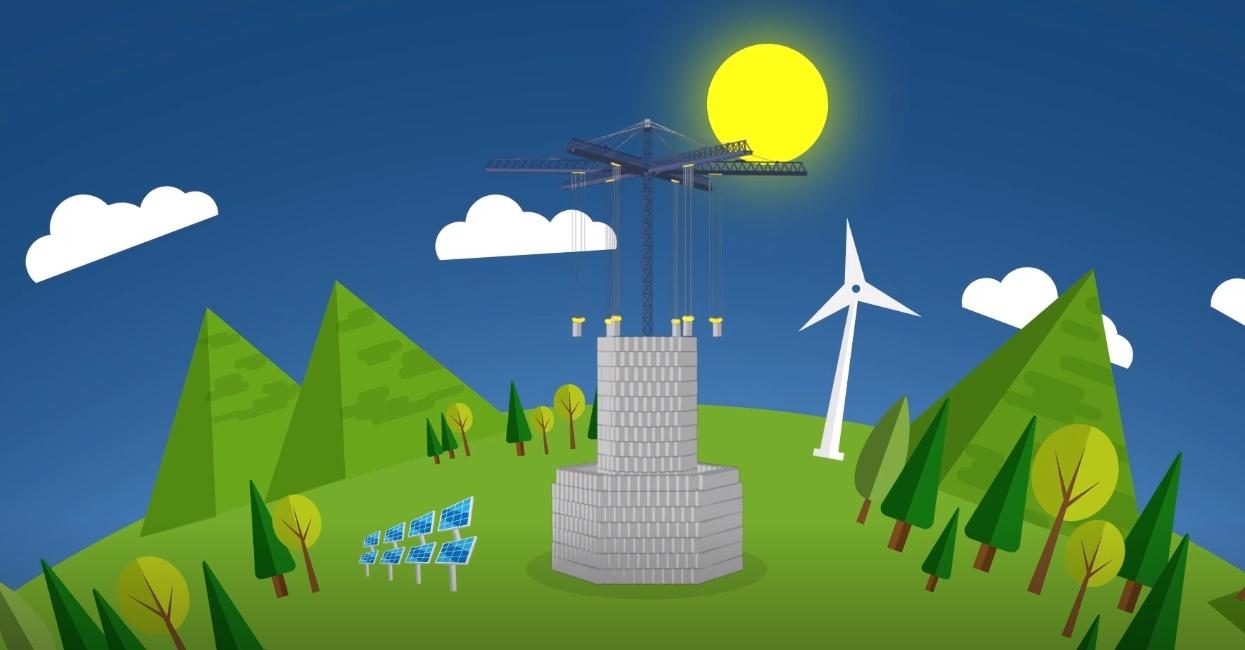 Могут ли эти 35-тонные блоки решить гигантскую проблему с возобновляемыми источниками энергии? - 1