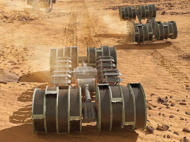 Как НАСА будет использовать роботов для создания ракетного топлива из марсианской почвы - 1