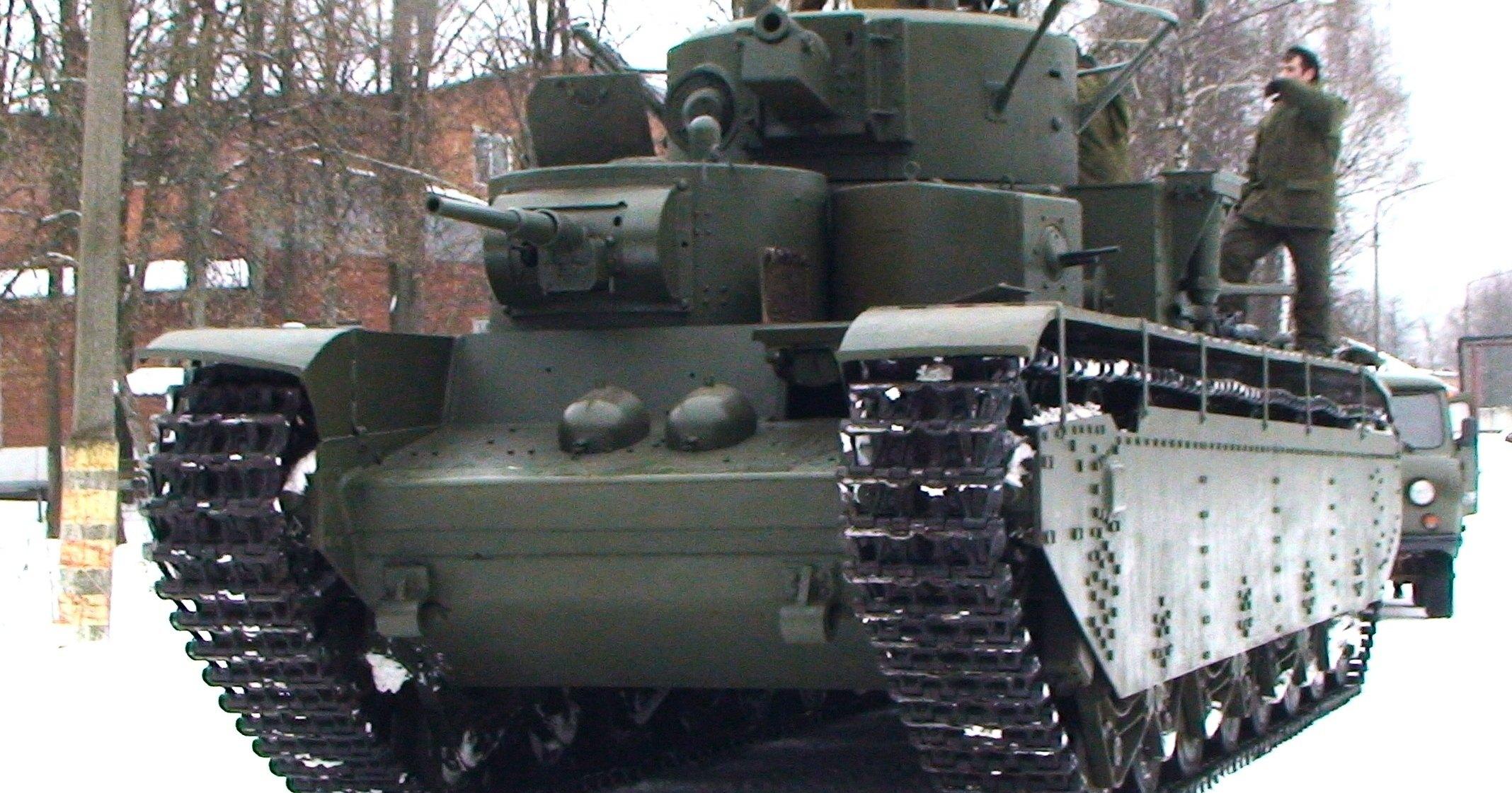 Как ездит Т-35