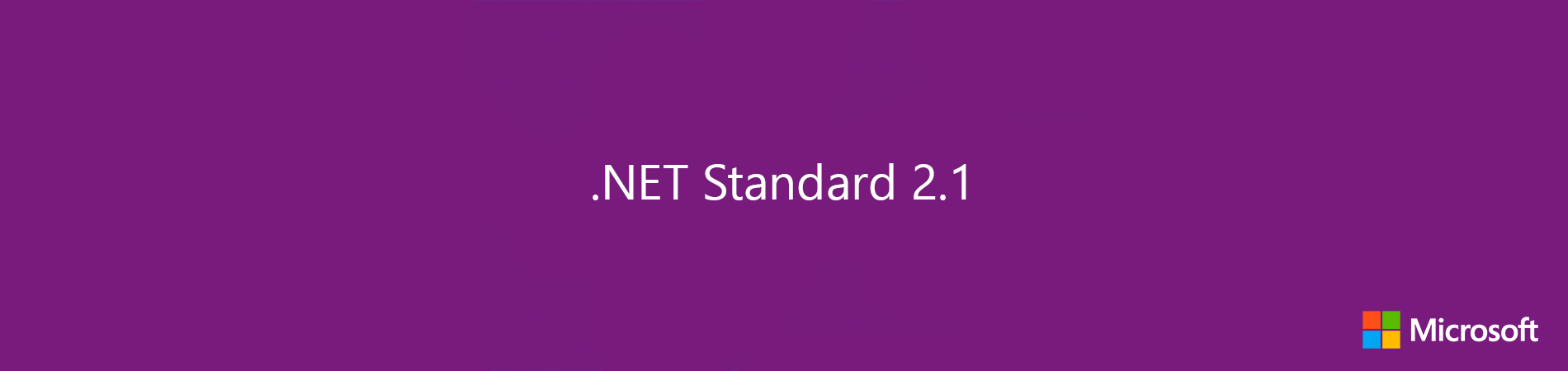 .NET Standard 2.1 - 1