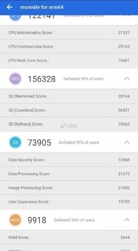Чипсет Snapdragon 8150 засветился в AnTuTu