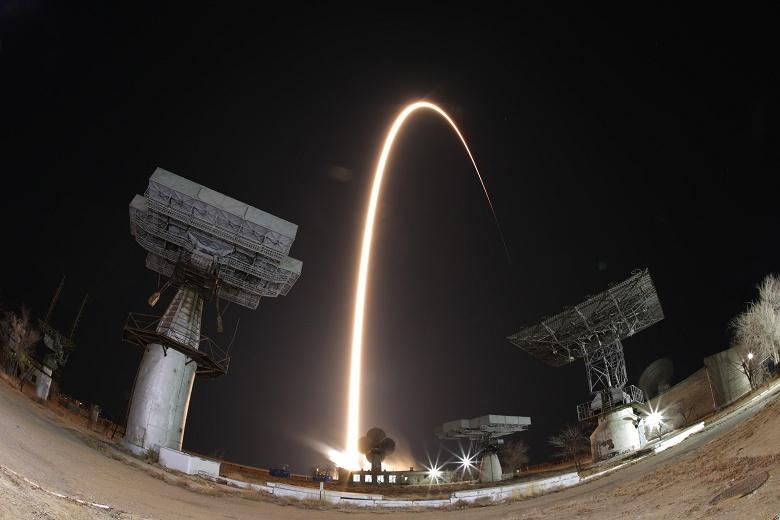 С Байконура запустили первую после недавней аварии ракету «Союз-ФГ»