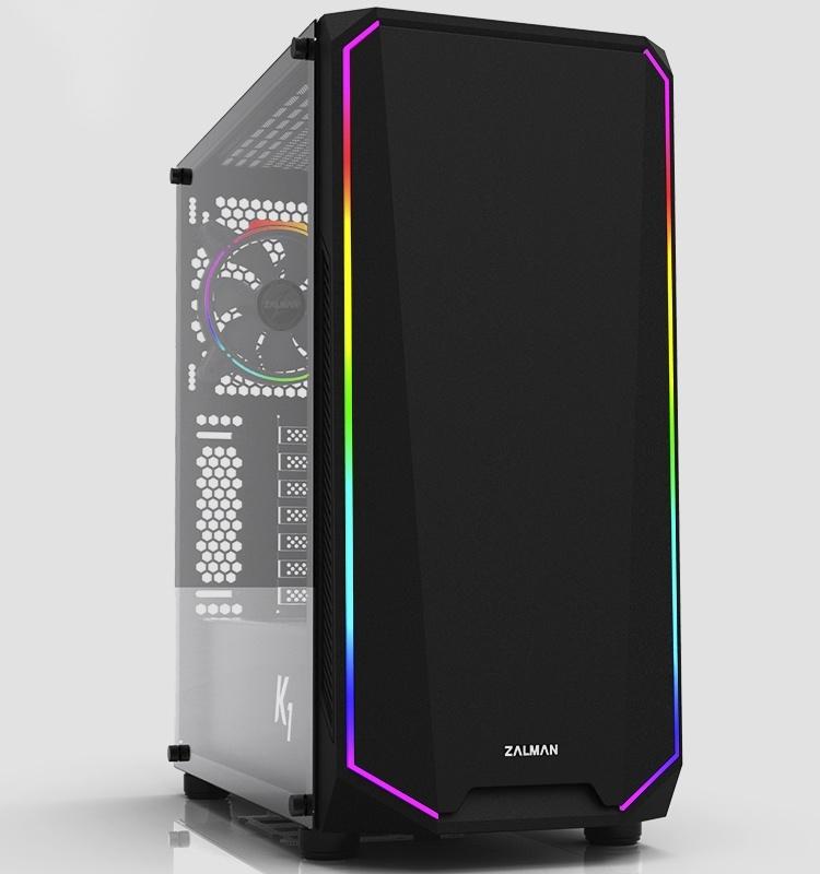Zalman K1: ПК-корпус с RGB-подсветкой за 75 евро