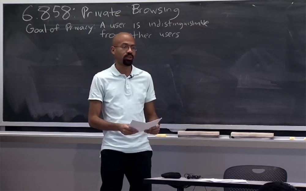 Курс MIT «Безопасность компьютерных систем». Лекция 18: «Частный просмотр интернета», часть 1 - 2