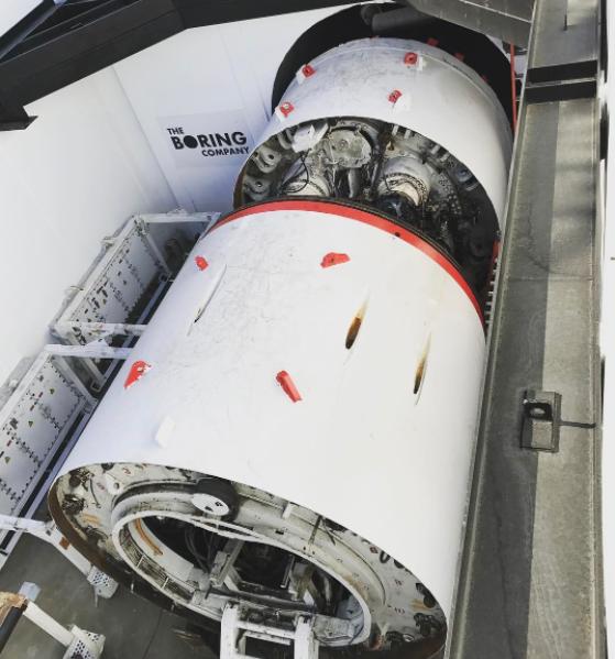 Пробурен первый тоннель Boring Company Илона Маска - 2