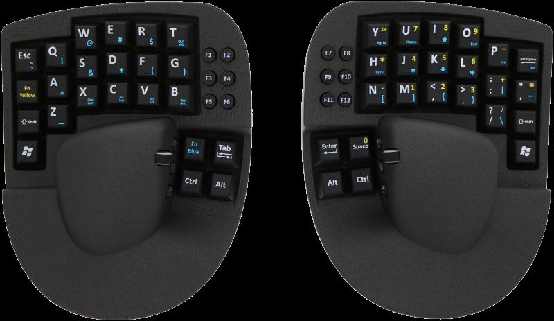 Опыт использования гибрида клавиатуры и мыши в программировании - 1