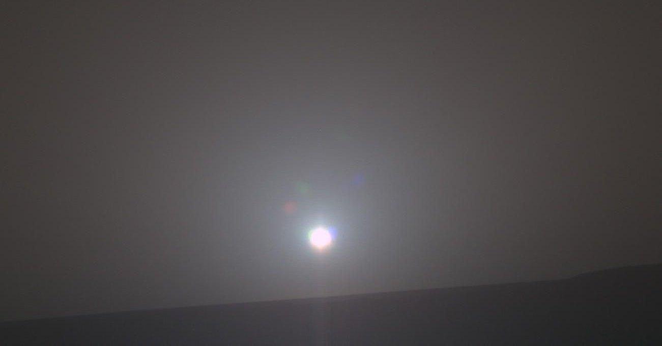 Рассвет на Марсе превратили в музыкальную композицию