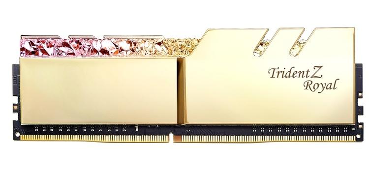 G.SKILL Trident Z Royal: модули памяти DDR4 с «королевским» дизайном