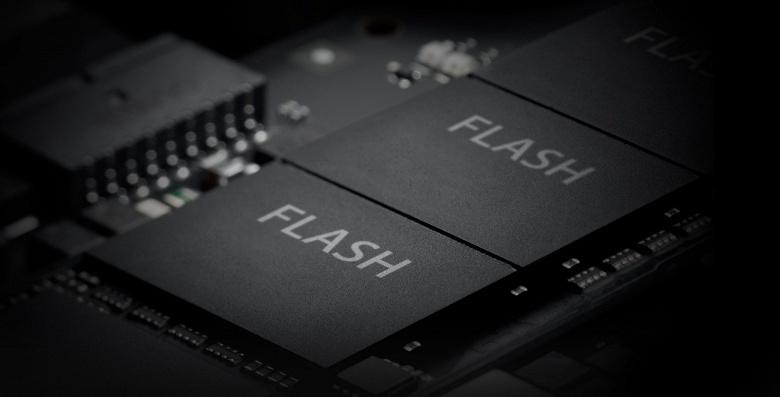 Мировой рынок флэш-памяти в минувшем квартале вырос на 4,4%