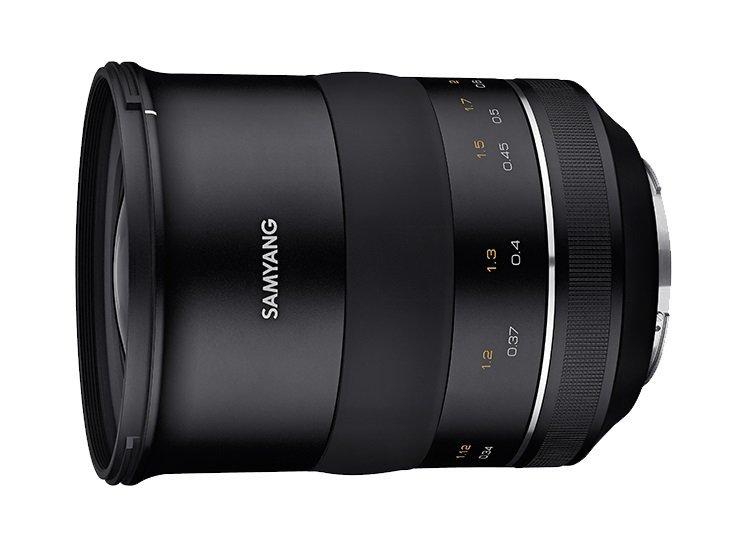 Появились изображения полнокадрового объектива Samyang XP 35mm F1.2