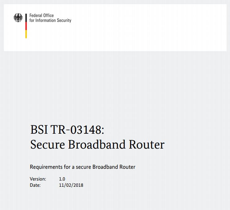 В Германии разработали требования к домашним маршрутизаторам - 1