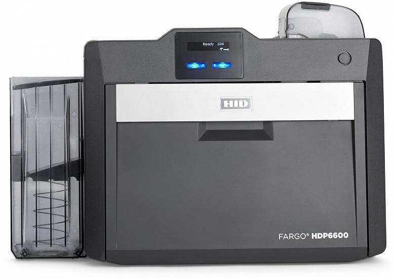 HID Global называет Fargo HDP6600 самым быстрым в мире ретрансферным принтером
