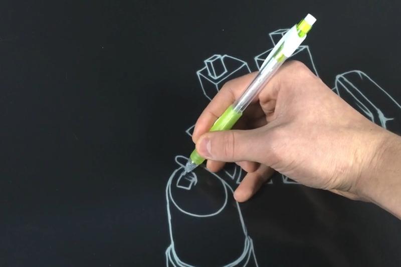 На новом экране E Ink можно писать почти без задержки