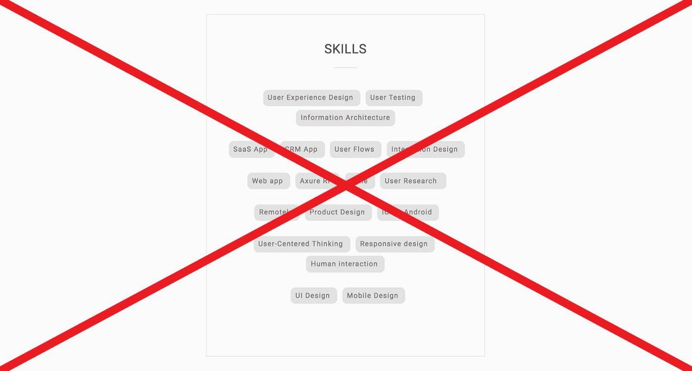 Советы и рекомендации по портфолио UX-дизайнера - 5