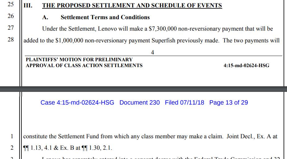Lenovo заплатит владельцам ноутбуков компенсацию $8,3 млн за установку зловреда Superfish - 3