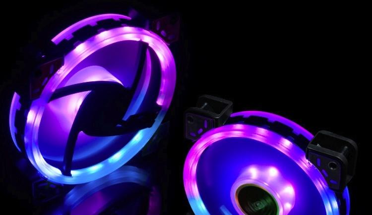 Akasa Vegas TLX и Vegas TLY: вентиляторы с эффектной подсветкой