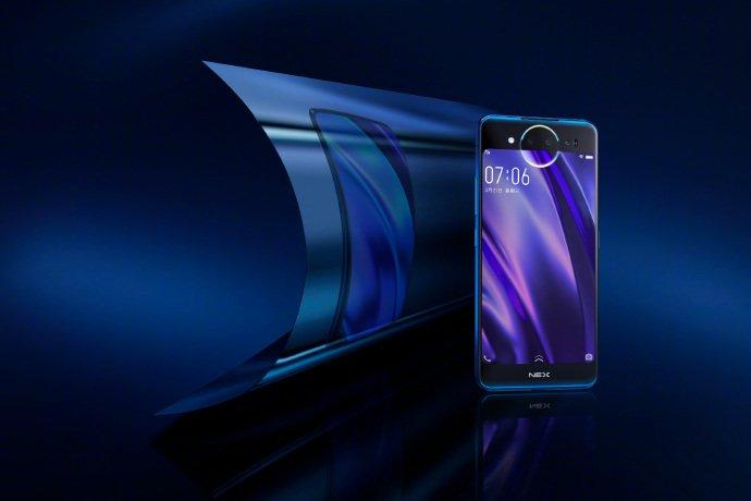 Фотогалерея дня: смартфон Vivo Nex 2, оснащенный двумя экранами, позирует на официальных рендерах