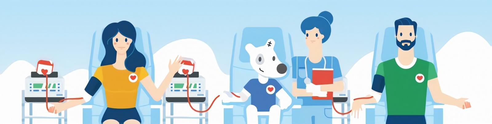 Опыт DonorSearch в привлечении молодежи на сдачу крови посредством геотаргетинга ВКонтакте - 1