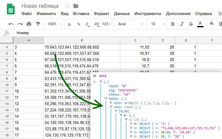 «CMS» на базе Google Spreadsheets для статических сайтов - 1