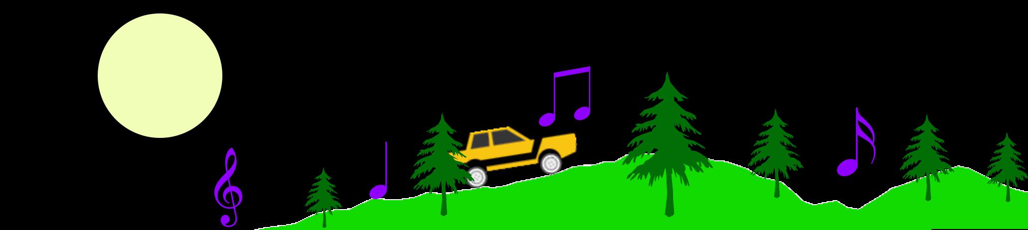 Генерация окружения на основе звука и музыки в Unity3D. Часть 2. Создание 2D трассы из музыки - 1