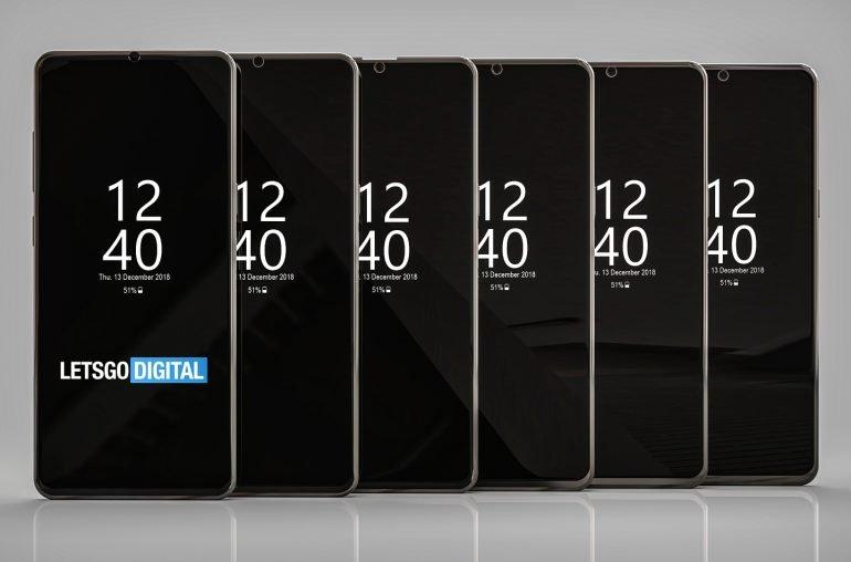 Samsung продолжает экспериментировать с вырезами экрана, патентные изображения демонстрируют новые варианты