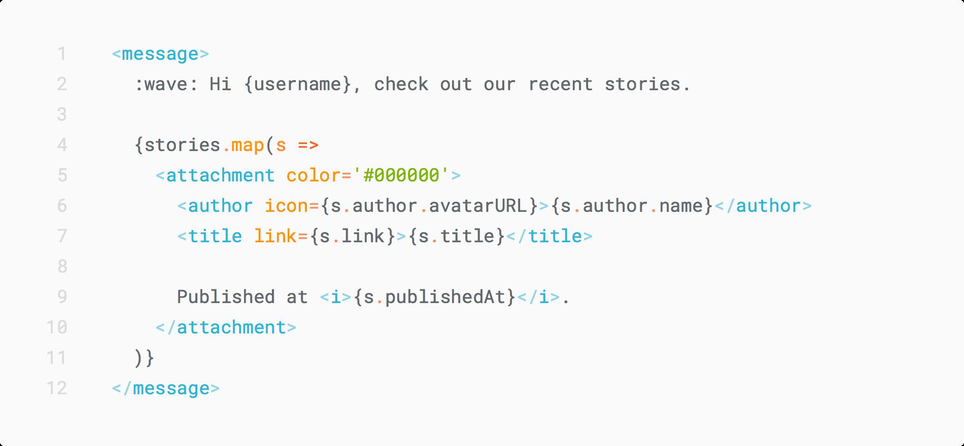 Типизированный DSL в TypeScript из JSX - 1