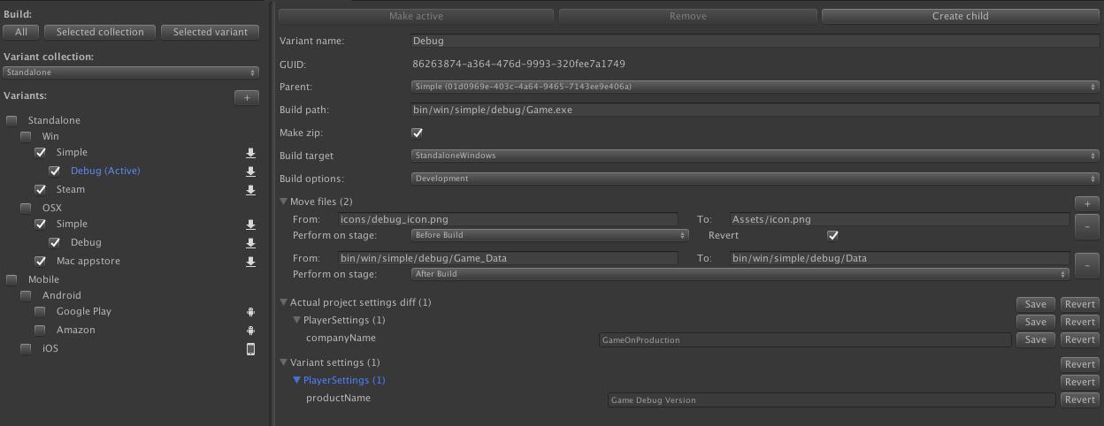 Упрощаем сборку билдов в Unity3D - 1