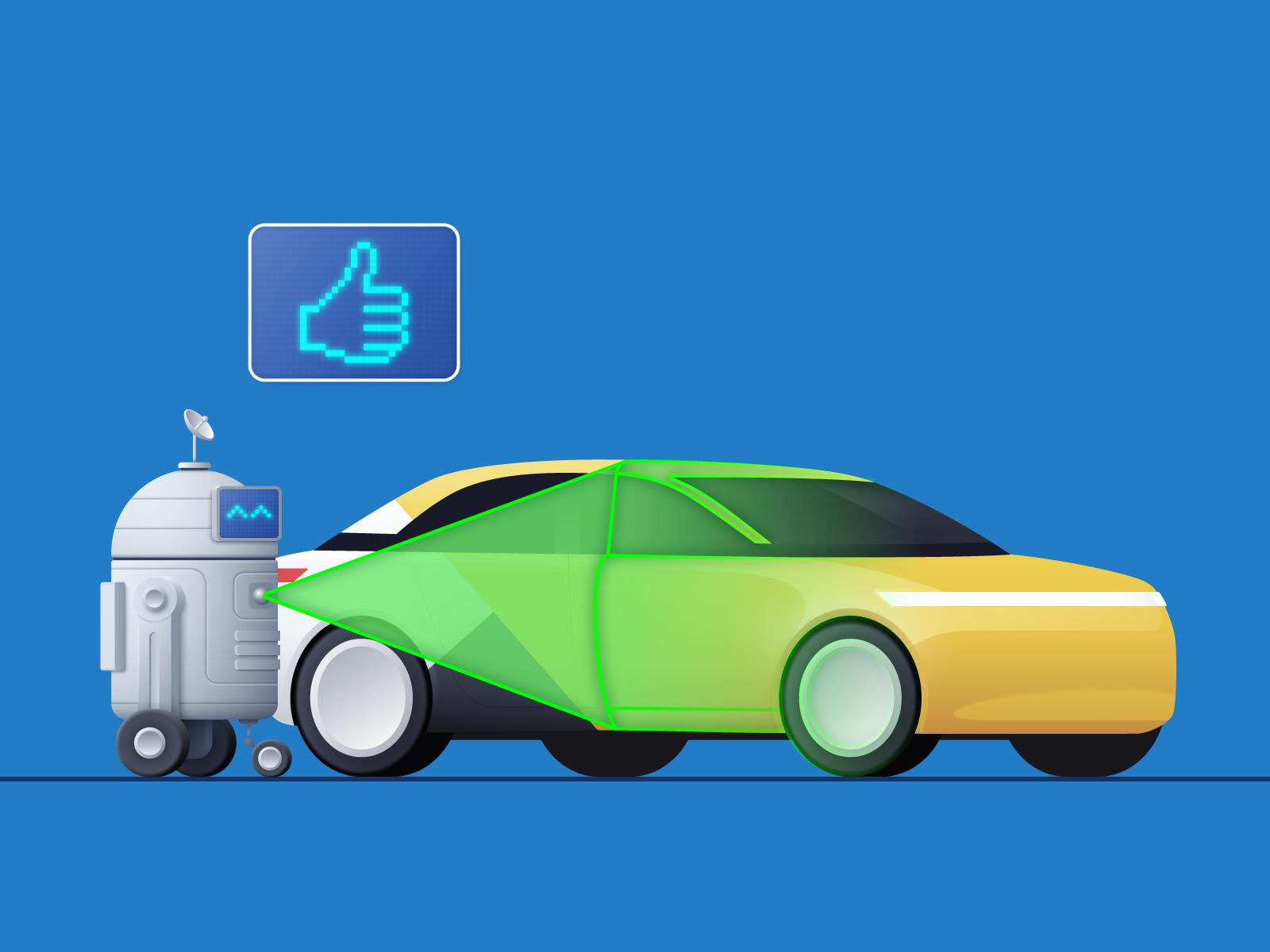 Как с помощью компьютерного зрения оценить состояние автомобиля. Опыт Яндекс.Такси - 1