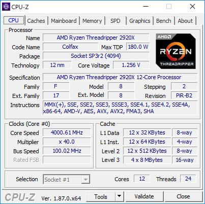 Новая статья: Обзор процессора AMD Ryzen Threadripper 2920X: стоит ли брать 12-ядерник AMD вместо Core i9-9900К?