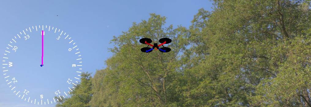 Вход в Aeronet: запуск автономного квадрокоптера в виртуальной среде - 1
