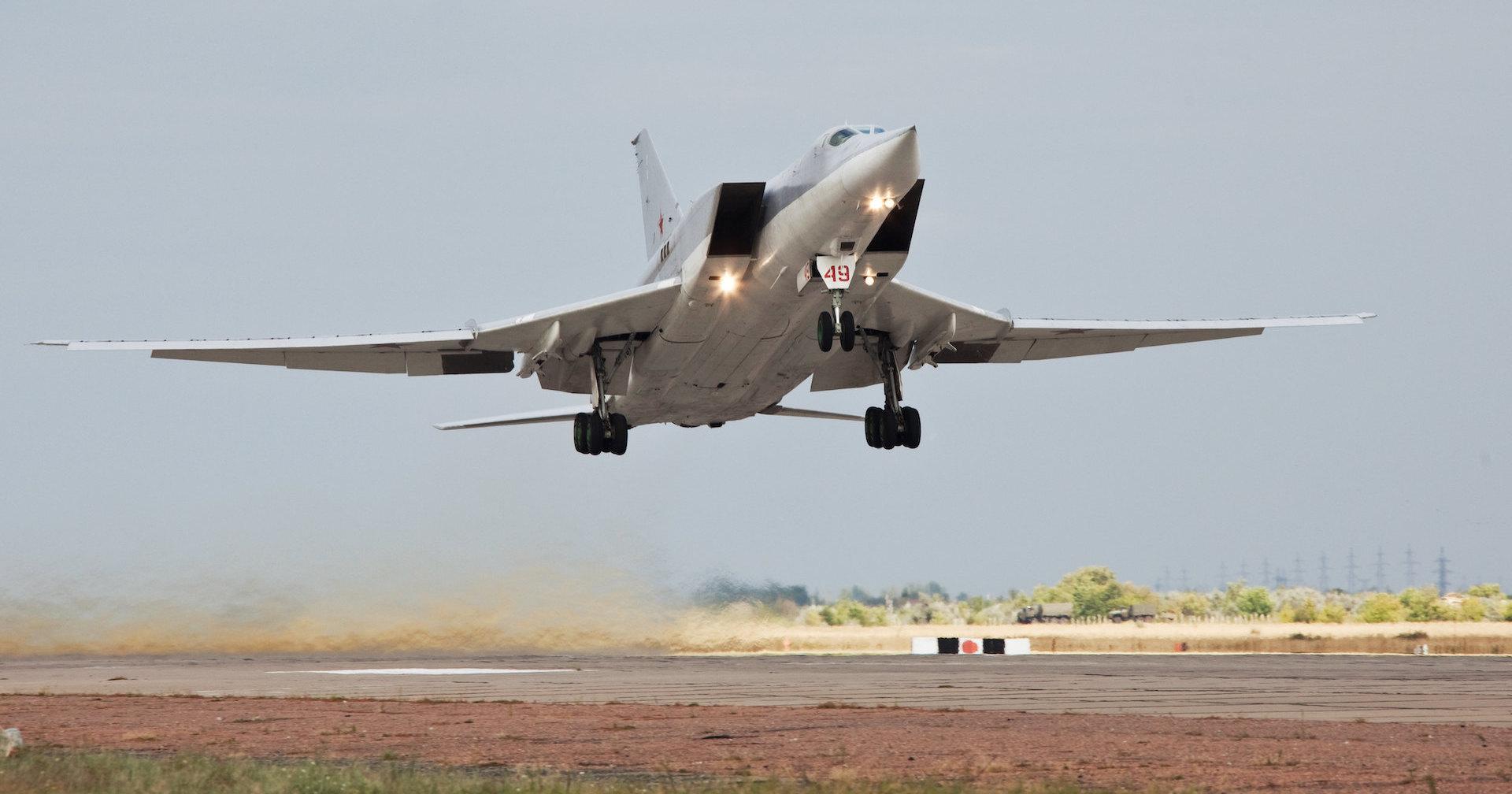 Первый полёт Ту-22М3М показали на видео