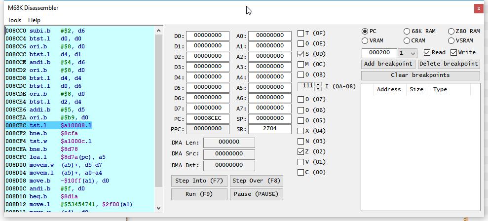 Модернизация IDA Pro. Отладчик для Sega Mega Drive (часть 1) - 1