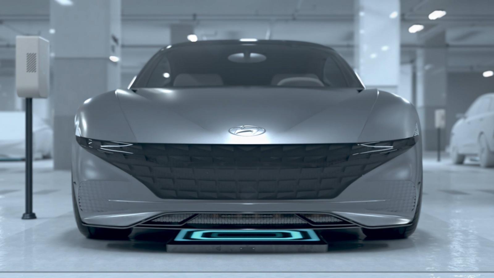 Hyundai motor group представила концепт беспроводной зарядки и автономной парковки - 1