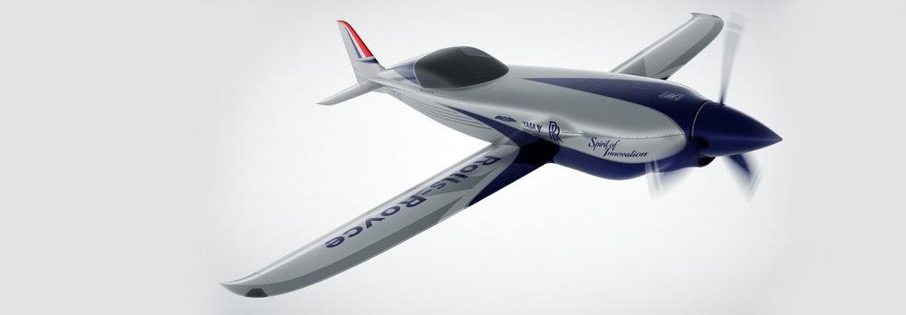 Rolls-Royce разрабатывает самый быстрый электросамолет в мире - 1