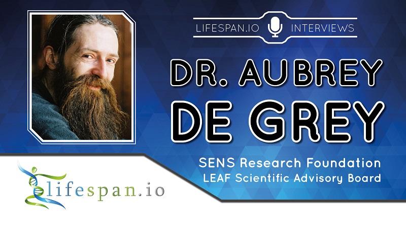 Клинические испытания на пороге – интервью с Обри де Греем - 1