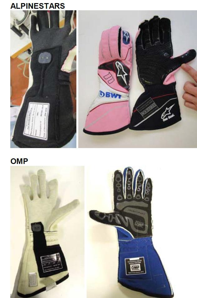 Биометрические перчатки в автоспорте - 11